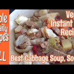 Best Cabbage Soup Ever, So Far-Vegan Instant Pot Recipe