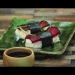 Raw Vegan Sushi  – easy simple recipe made without fish