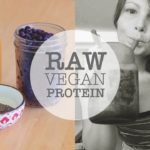 WHAT I EAT || RAW Vegan Protein SMOOTHIE RECIPE || NO Protein Powder