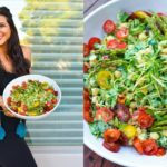 High Protein Veggie Salad! Fully Raw Vegan Recipe!