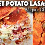 VEGAN HOLIDAY RECIPE // SWEET POTATO LASAGNA (gluten-free + oil-free)