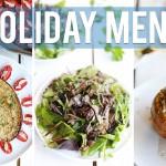 3-Course Vegan Holiday Menu | HEALTHY VEGAN RECIPES W/Healthy Grocery Girl