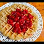 3 Ingredient Vegan Waffles – High Carb Low Fat Recipe