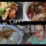 3 Vegan Dinner Recipes. Healthy and Delicious!