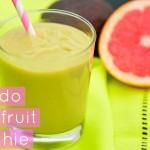 Avocado Grapefruit Smoothie Healthy Vegan Sugar Free ¡ Vegan Recipes