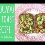 Avocado on toast recipe | easy vegan lunch ideas