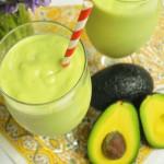 Avocado Smoothie : Traditional Vs. Vegan : Avocado Recipes : Healthy Recipes