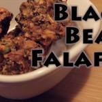 Baked Black Bean Falafel | Vegan Recipe (gluten-free)