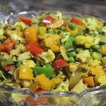 Cauliflower Capsicum Best Vegan Recipe | Bell Pepper Gobi Capsicum Sabzi | Best Vegetarian Dish