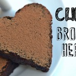 Chewy Chocolate Brownie Hearts Recipe | Easy & Healthy Vegan Dessert