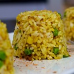 Curry Fried Rice – Quick and Easy Vegan Recipe!