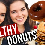 HEALTHY DONUT RECIPE – Low Fat, Vegan – EASY