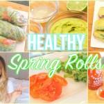 Healthy Spring Roll Recipes (Vegan + Gluten Free)