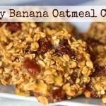 Healthy Vegan Banana Oatmeal Cookies Breakfast Ideas ¡ Vegan Recipes