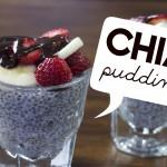 Healthy Vegan Recipe   Chia Pudding Parfait