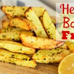 How to Make Healthy Oven Baked Potato Fries or Chips + Guacamole Dip Vegan Recipe