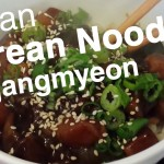 Korean Noodles w VEGAN Black Bean Sauce (Jjajangmyeon: 짜장면) Recipe – Le Tour de Plants