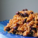 Low Fat VEGAN No Oil Spanish Rice & Beans Recipe