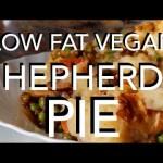 LOW FAT VEGAN SHEPHERDS PIE – raw til 4 recipe HCLF