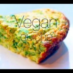 Oil Free Vegan Quiche Recipe – (egg, dairy, nut and tofu free!)