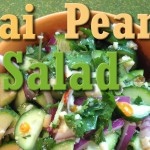 Quick Easy Vegan Recipe: Thai Cucumber Peanut Salad