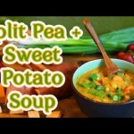 Smoky Split Pea and Sweet Potato Soup Recipe