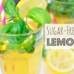 Sugar-Free Basil Lemonade Easy & Quick Summer Drink ¡ Vegan Recipes
