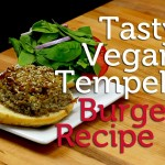 Super Tasty Vegan Tempeh Burger | Recipe