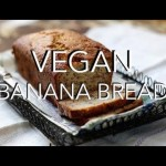 VEGAN BANANA BREAD – oil, gluten & refined sugar free, easy HCLF recipe. 6 ingredients.