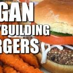 VEGAN Bodybuilding Cheeseburger Recipe
