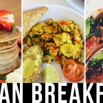 Vegan Breakfast Ideas ¡ Oatmeal Pancakes, Tofu Scramble, Burrito Wrap ¡ Vegan Recipes