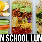 Vegan Lunch Ideas for School & Work Easy & Healthy Vegan Recipes