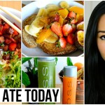 What I Ate Today ¡ Vegan, Healthy Food Ideas, Bibimbap, Juice ¡ Vegan Recipes