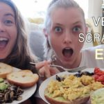 VEGAN SCRAMBLE EGG RECIPE | A DAY IN MY LIFE
