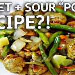 VEGAN SWEET + SOUR PORK RECIPE?! feat. HOT FOR FOOD